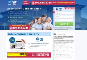 ADT homepage
