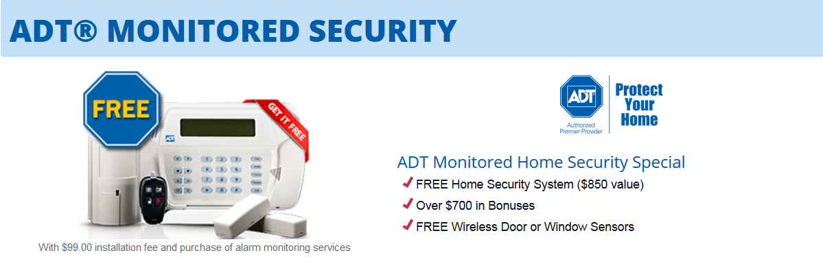 ADT pricing offer