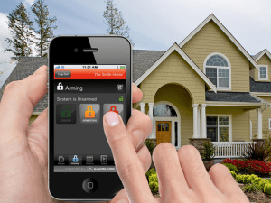 Control your home remotely with your smartphone