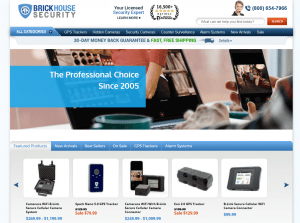 Brickhouse Securiy homepage