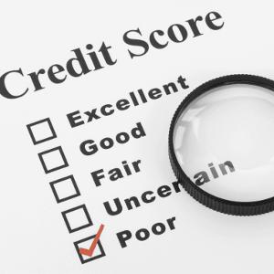 Checklist of a credit check