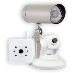 Surveillance cameras by FrontPoint Security