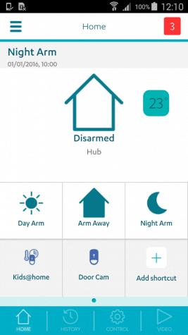 GetSafe smartphone app
