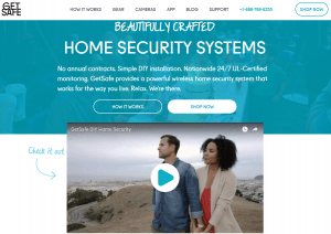 GetSafe homepage