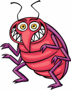 An image of a bug cartoon charachter