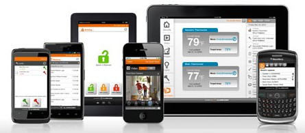 home security system apps