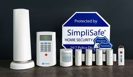 SimpliSafe2 Wireless Home Security system in its Classic package