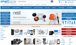 Smarthome homepage