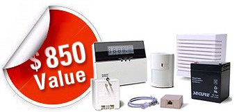 Home security equipment by US Home Alarm