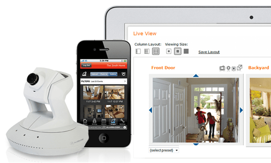 Wireless security cameras with live HD streaming